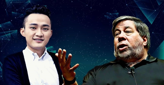 Justin Sun Discusses Steve Wozniak