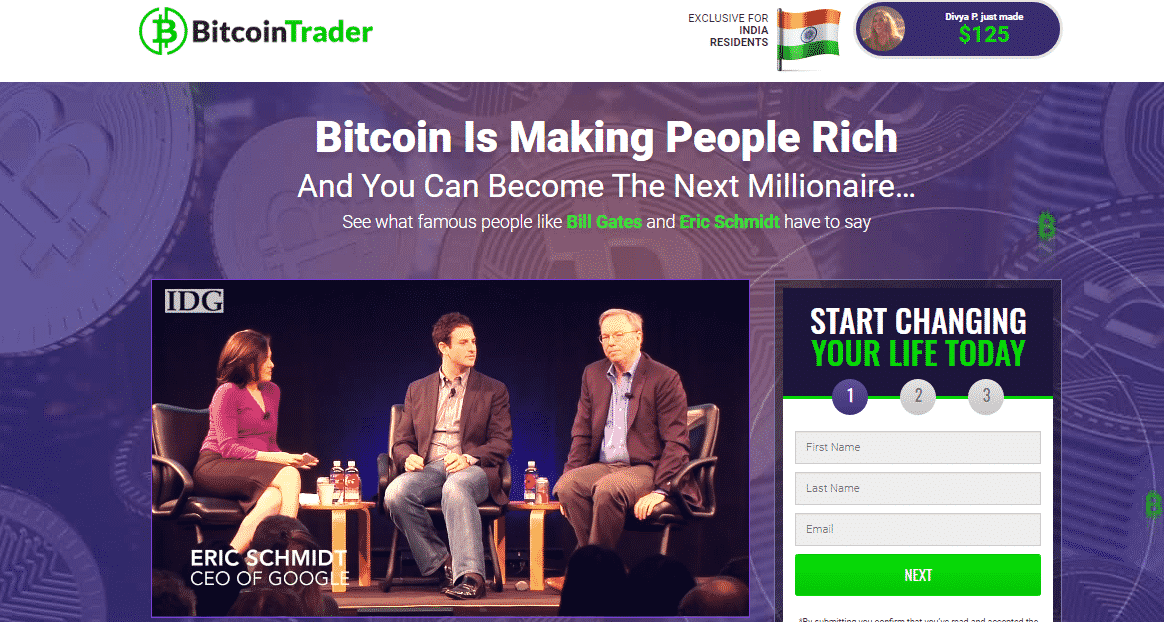 Bitcoin Trader Review - Cryptocurrency Trading Platform
