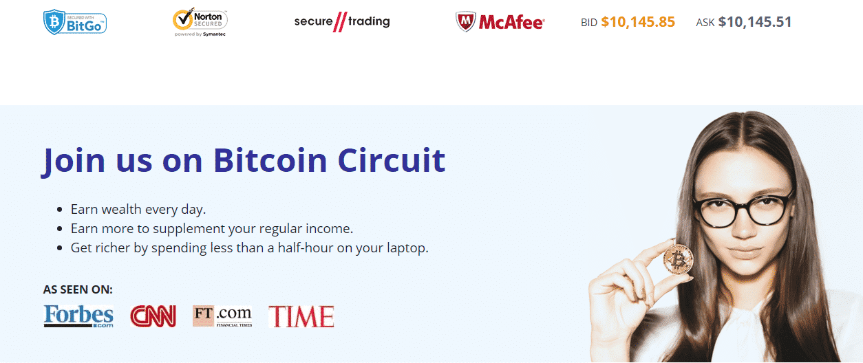 Join Bitcoin Circuit now!